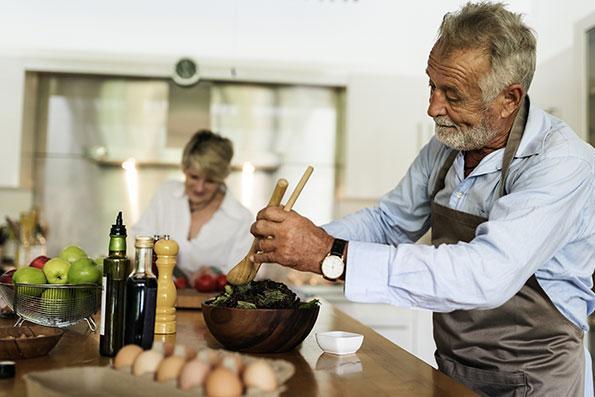 cuisine fonctionnel ou il fait bon cuisiner en couple et famille